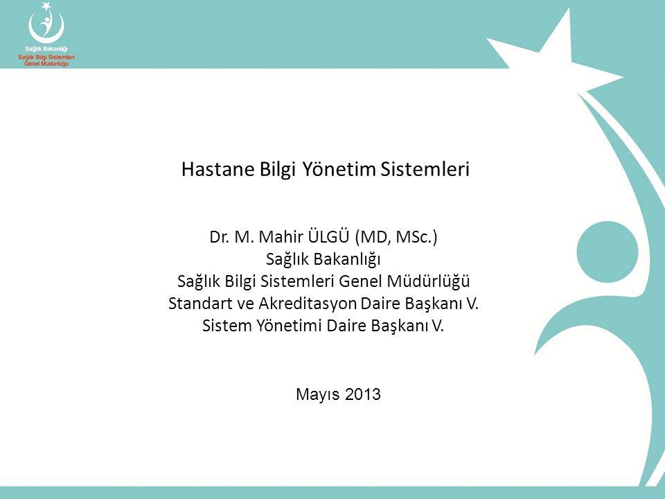 Hastane Bilgi Yönetim Sistemleri Dr.M.