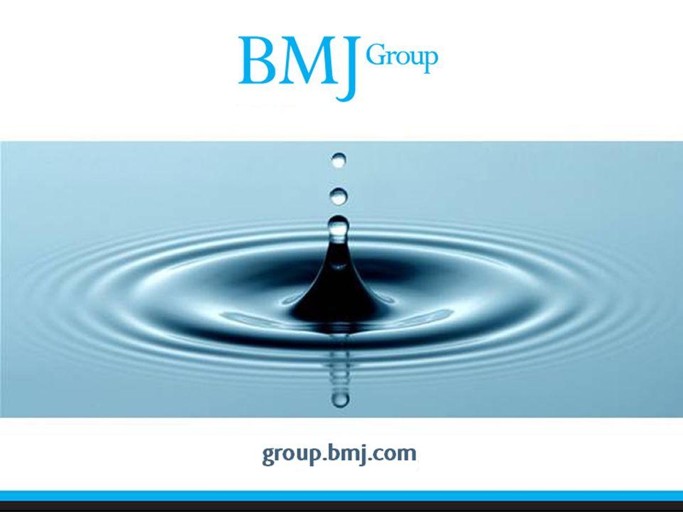 Ajanda: BMJ Group hakkında ANKOS BMJ Konsorsiyumu Ürünler hakkında: –BMJ Journals BMJ Case Reports YENİ – BMJ Evidence Centre'dan Clinical Evidence Best Practice YENİ – BMJ Learning One Examination