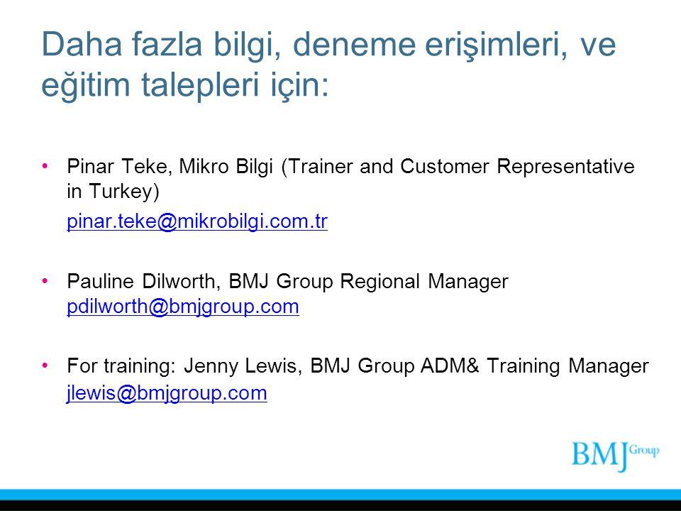 Daha fazla bilgi, deneme erişimleri, ve eğitim talepleri için: Pinar Teke, Mikro Bilgi (Trainer and Customer Representative in Turkey) pinar.teke@mikr