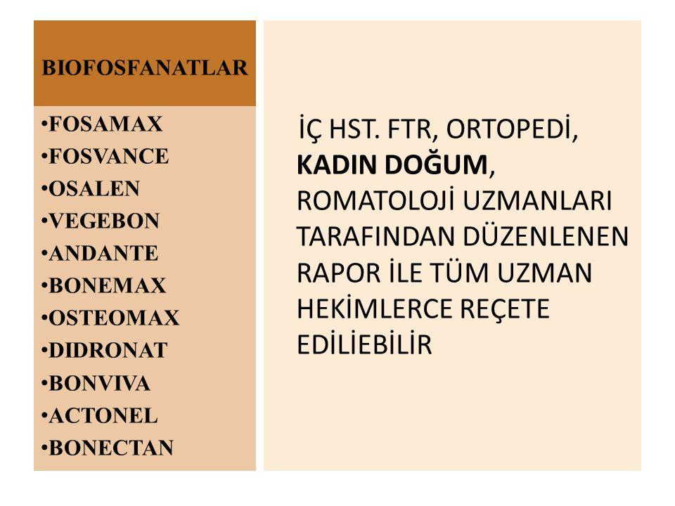 BIOFOSFANATLAR İÇ HST.