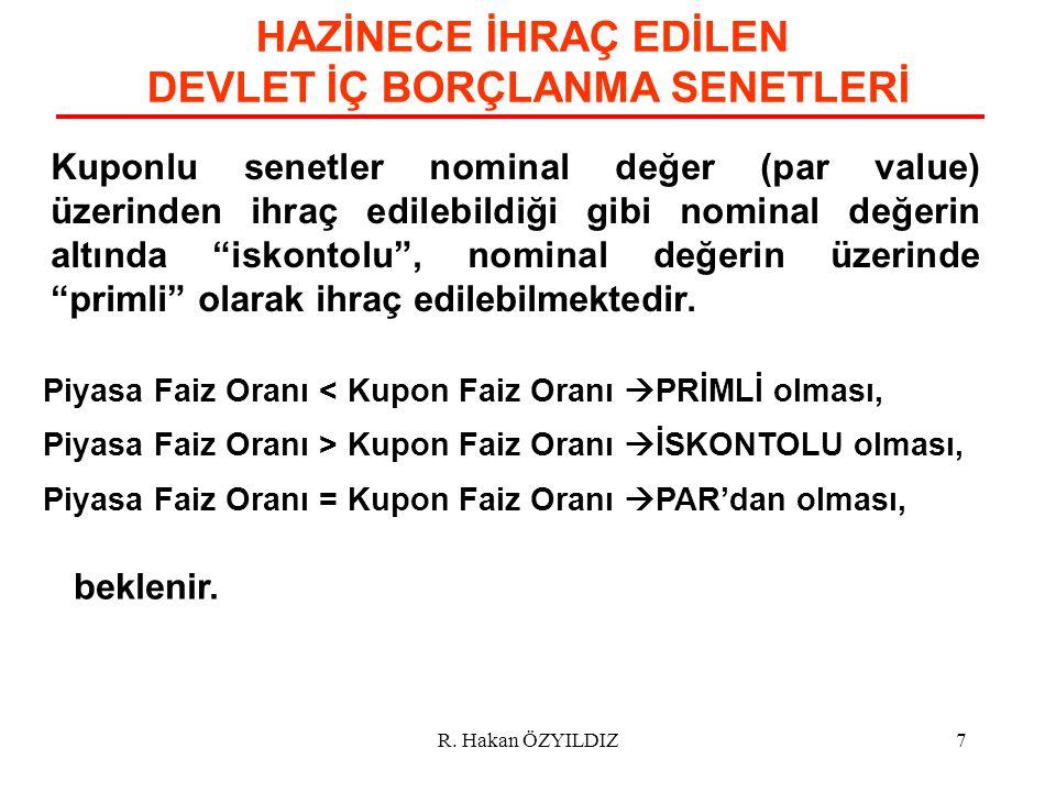 PY ' LARIN Y Ü K Ü ML Ü L Ü KLERİ R. Hakan ÖZYILDIZ48