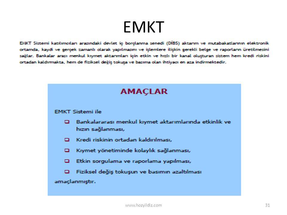 EMKT www.hozyildiz.com31