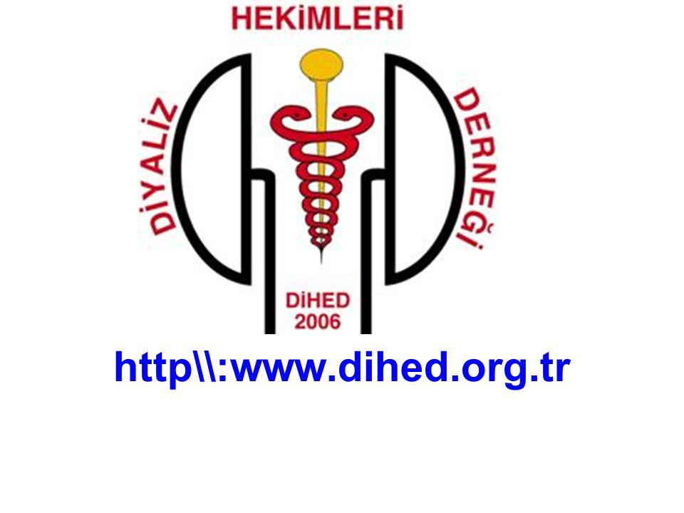 DİYALİZ HEKİMLERİ DERNEĞİ www.dihed.org.tr Dr. Adem SEZEN