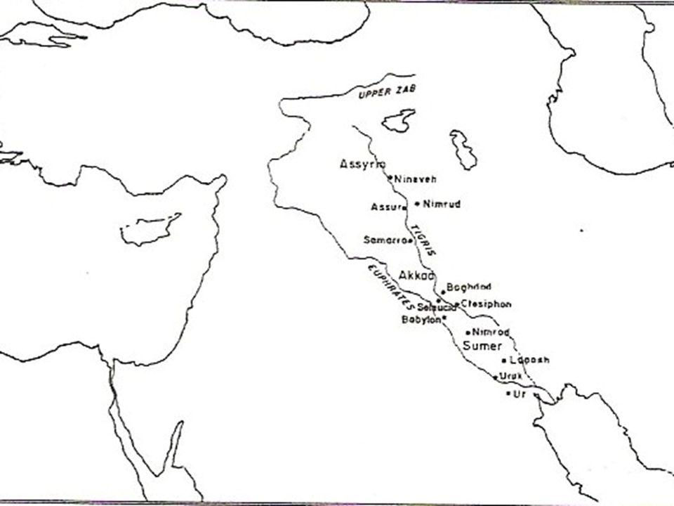 MEZOPOTAMYA KÜLTÜRÜ Güney batı Asya'da yer alan Dicle ve Fırat nehirleri arasındaki bölge Mezopotamya MÖ 4.yy şehir devletleri kurulmuş En çok meşhur olan Sümerler (yazı keşfi)
