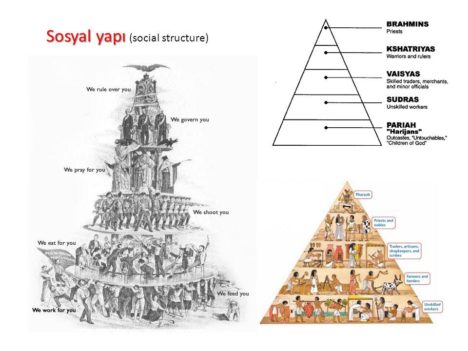 Sosyal yapı Sosyal yapı (social structure)