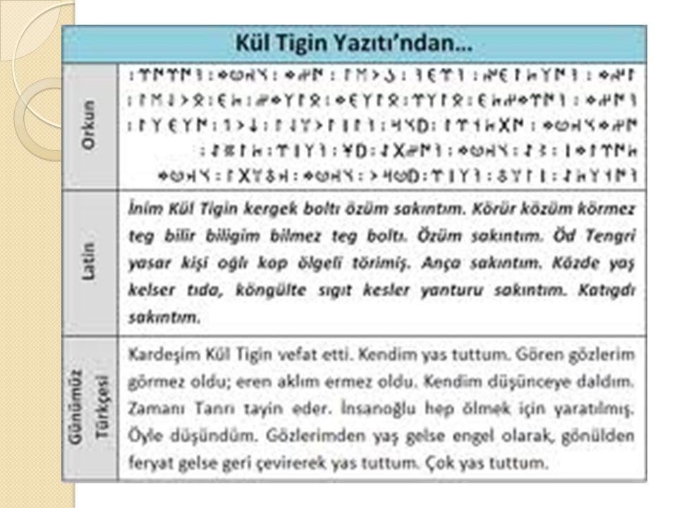 Orhun Yazıtları, Mo ğ olistan ın kuzeyinde, Baykal gölünün güneyinde, Orhun ırma ğ ı vadisindeki Koşo Saydam gölü yakınlarındadır.