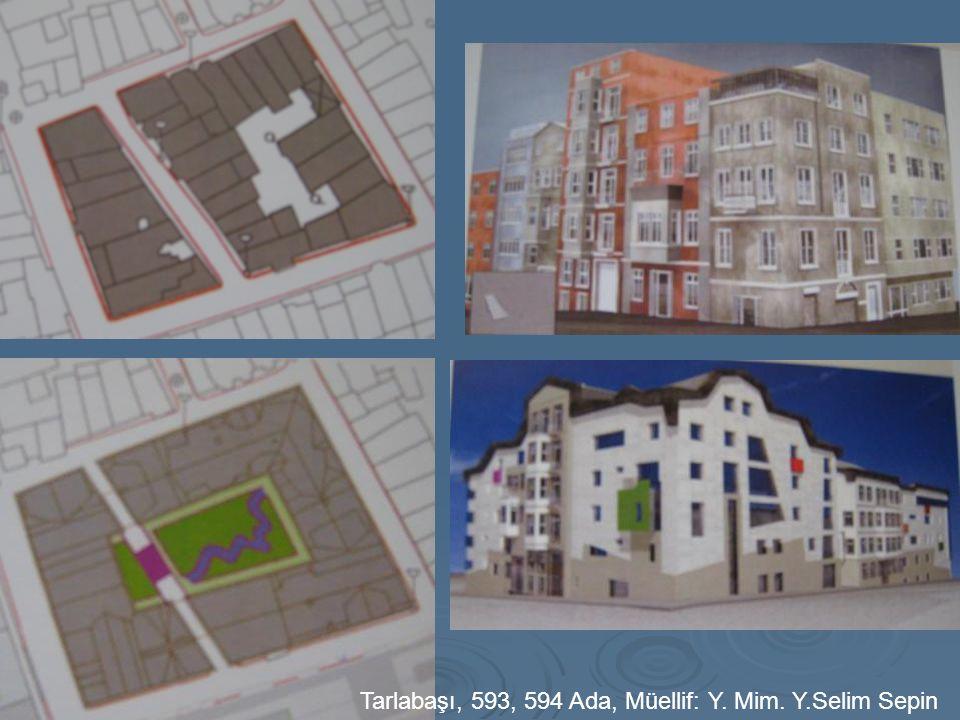 Tarlabaşı, 593, 594 Ada, Müellif: Y. Mim. Y.Selim Sepin