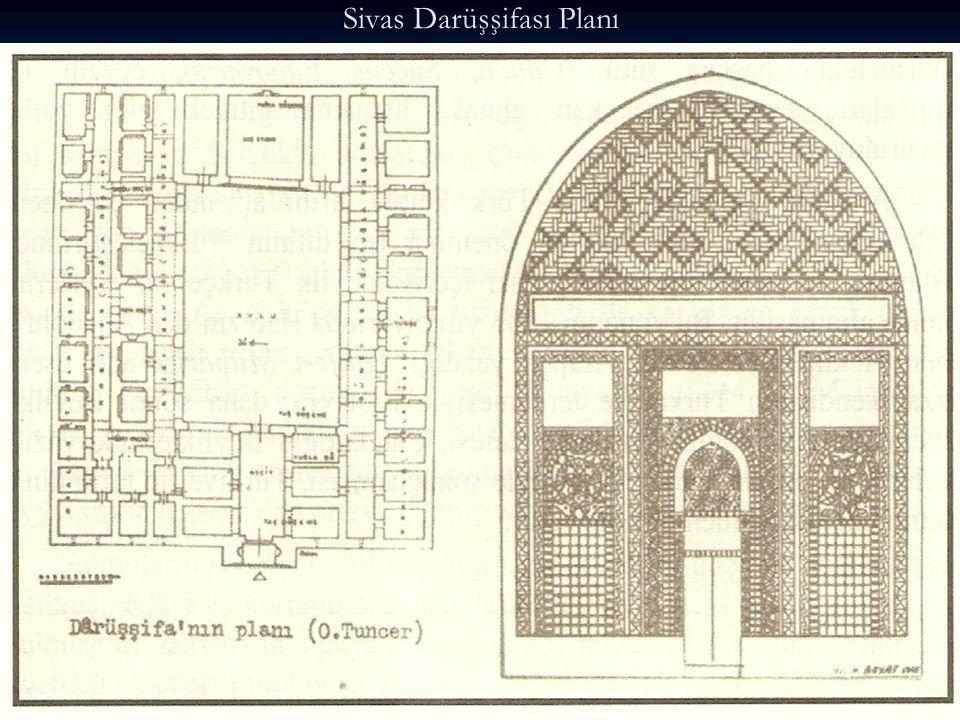 Sivas Darüşşifası Planı