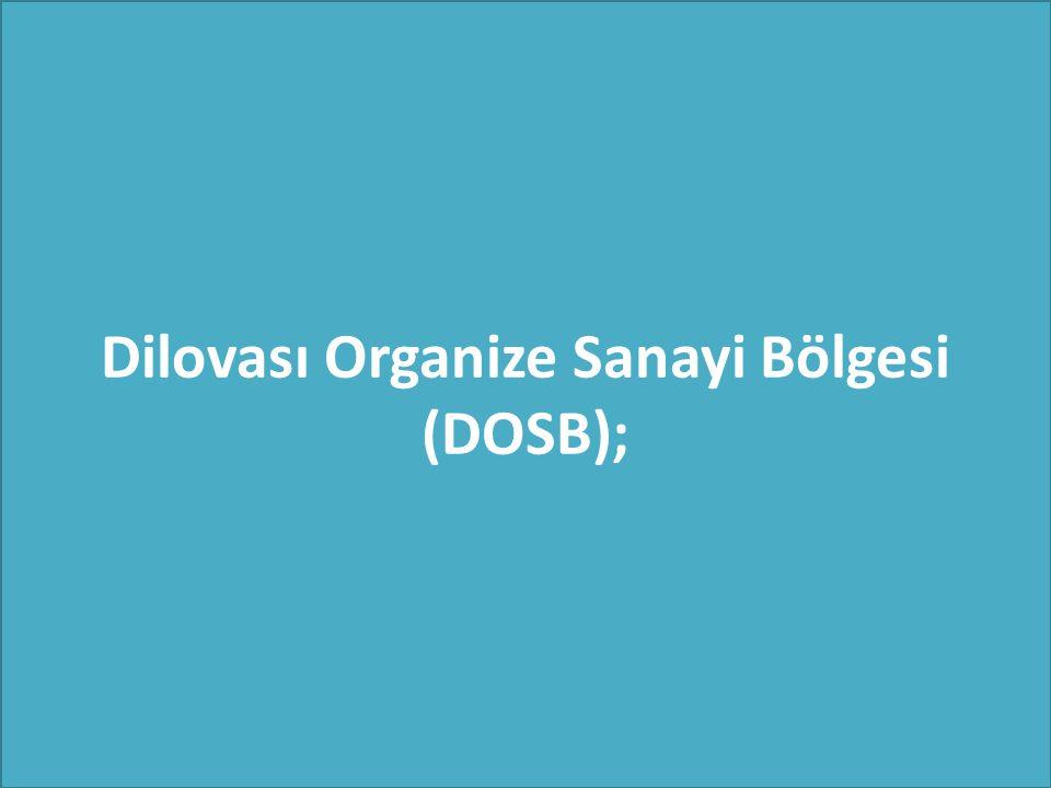 Dilovası Organize Sanayi Bölgesi (DOSB);