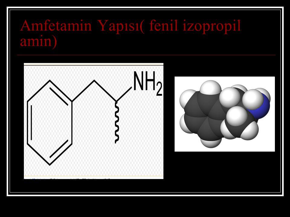 Amfetamin Yapısı( fenil izopropil amin)