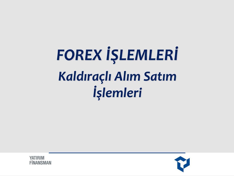 FOREX, İngilizce Foreign Exchange kelimelerinden türetilmiştir.