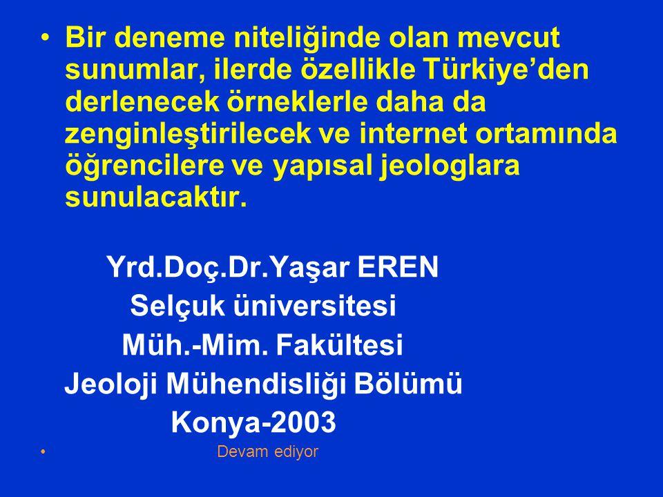 Bir deneme niteliğinde olan mevcut sunumlar, ilerde özellikle Türkiye'den derlenecek örneklerle daha da zenginleştirilecek ve internet ortamında öğren