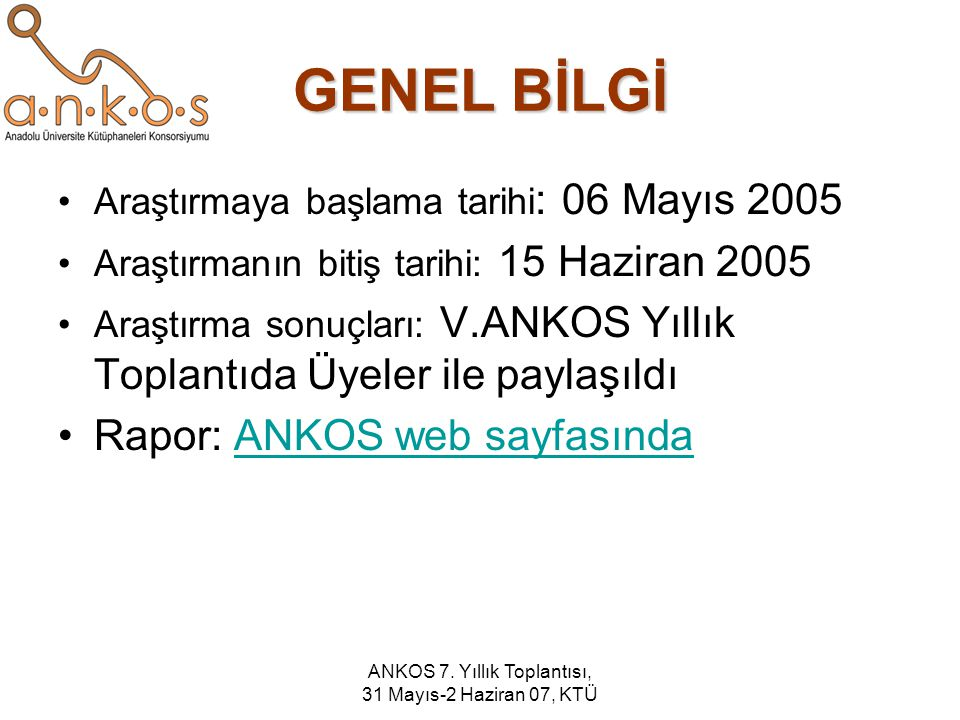 ANKOS 7.