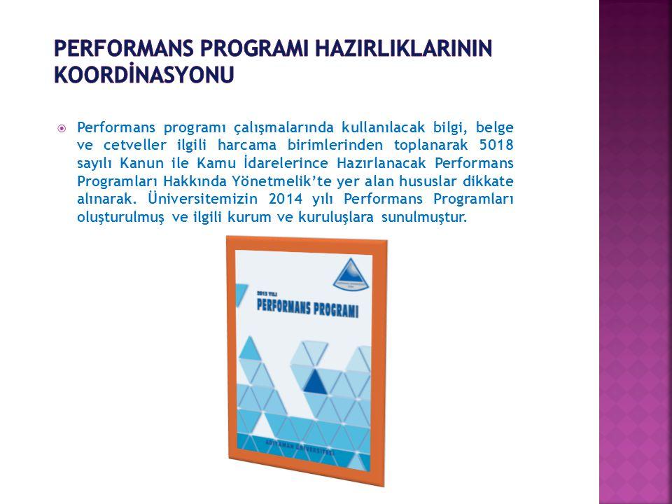 2015-2019 Stratejik Plan Hazırlıkları  13.02.2014 tarihinde çıkarılan İç Genelge ile çalışmalar başlatılmıştır.