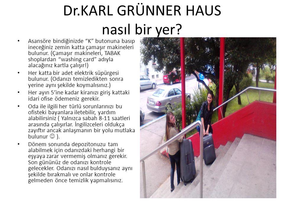 Dr.KARL GRÜNNER HAUS nasıl bir yer.