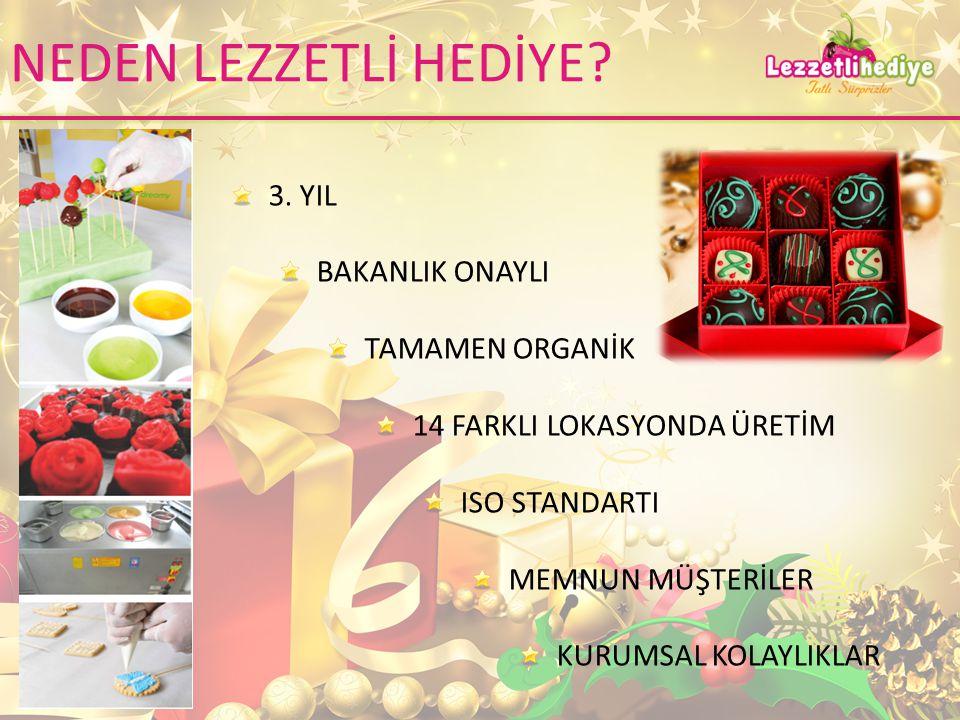 NEDEN LEZZETLİ HEDİYE. 3.