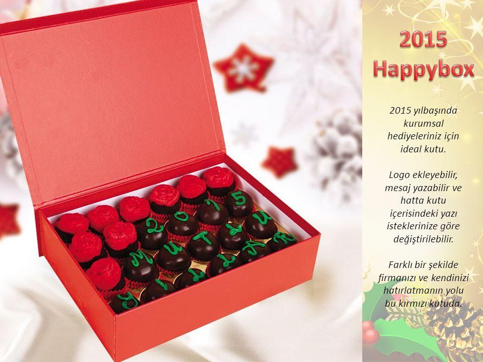 2015 yılbaşında kurumsal hediyeleriniz için ideal kutu.