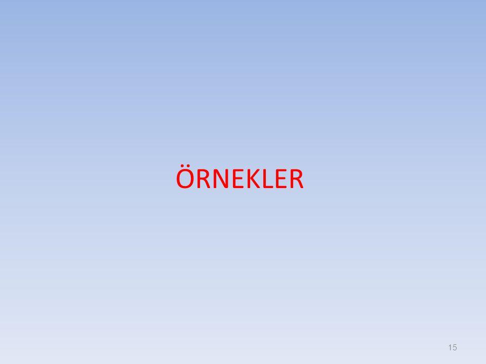 ÖRNEKLER 15