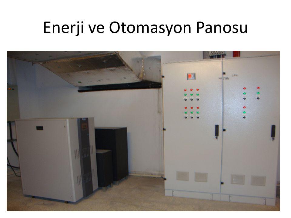 Enerji ve Otomasyon Panosu