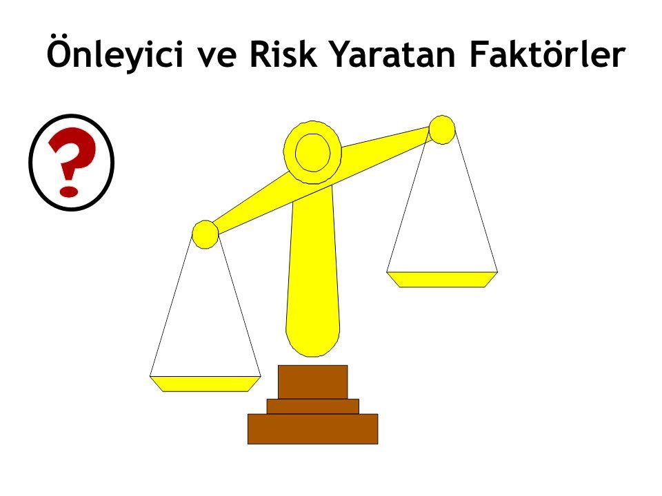 Önleyici ve Risk Yaratan Faktörler