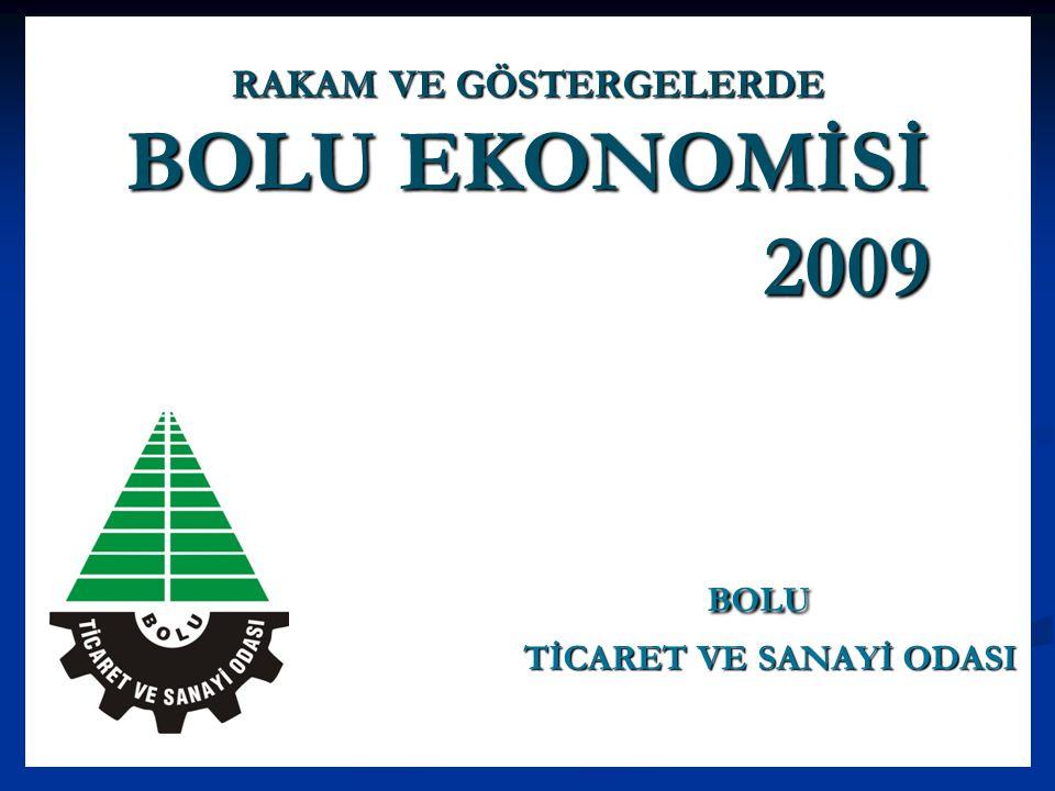BOLU EKONOMİSİ