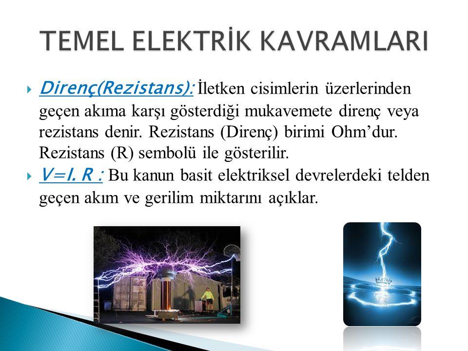  Monofaz: AC(Alternatif Akım) sistemlerde bir faz ve bir nötr hattından oluşan elektrik beslemesi.