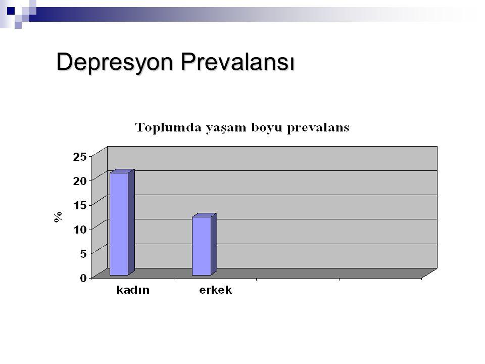 Depresyon Prevalansı Depresyon Prevalansı