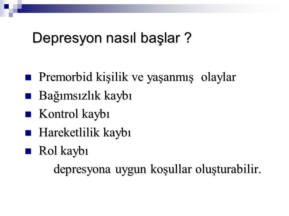 Depresyon nasıl başlar .Depresyon nasıl başlar .