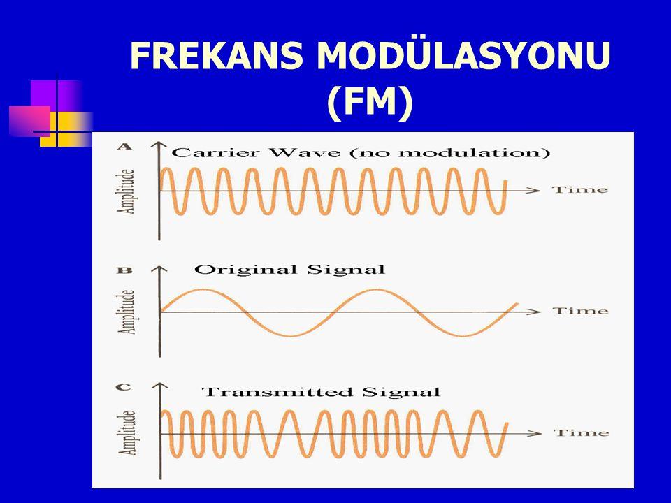 FREKANS MODÜLASYONU (FM)