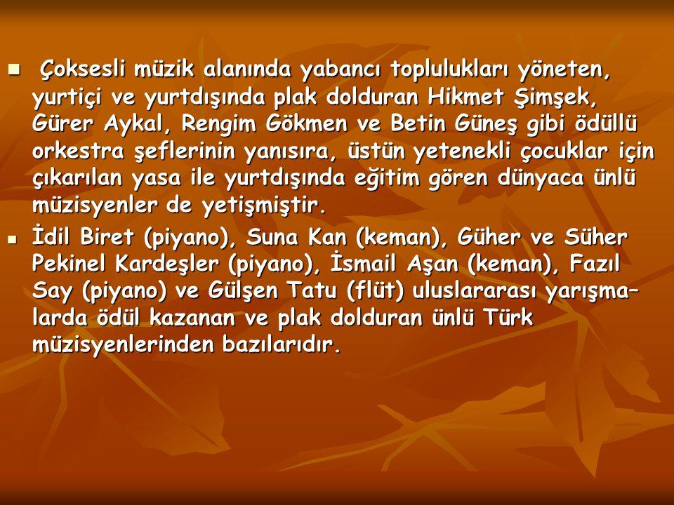 KLASİK TÜRK MÜZİĞİ KLASİK TÜRK MÜZİĞİ Türkiye'ye özgü bir tür olan sanat müziği 15.