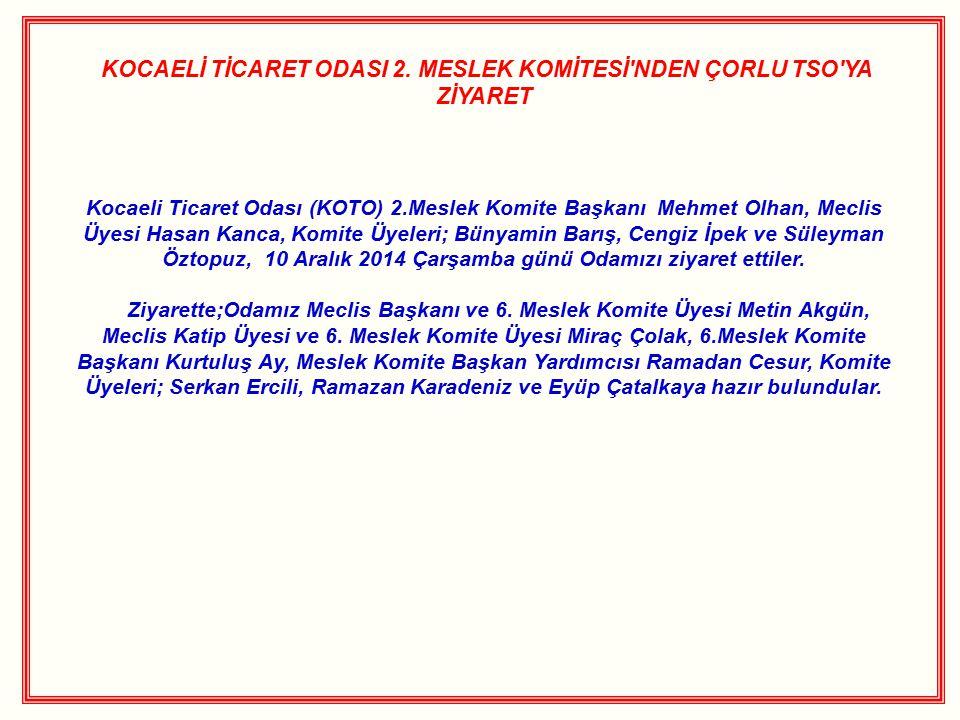 KOCAELİ TİCARET ODASI 2.