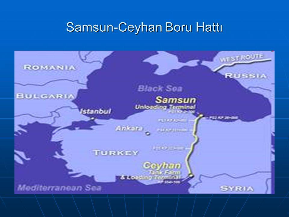 Samsun-Ceyhan Boru Hattı