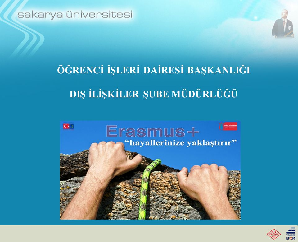 Erasmus Programında İzlenilmesi Gereken Süreç Dış İlişkiler Şube Müdürlüğü, kazanan tüm öğrencilerimizin isimlerini Yurt Dışındaki Üniversitelere bildirecektir.