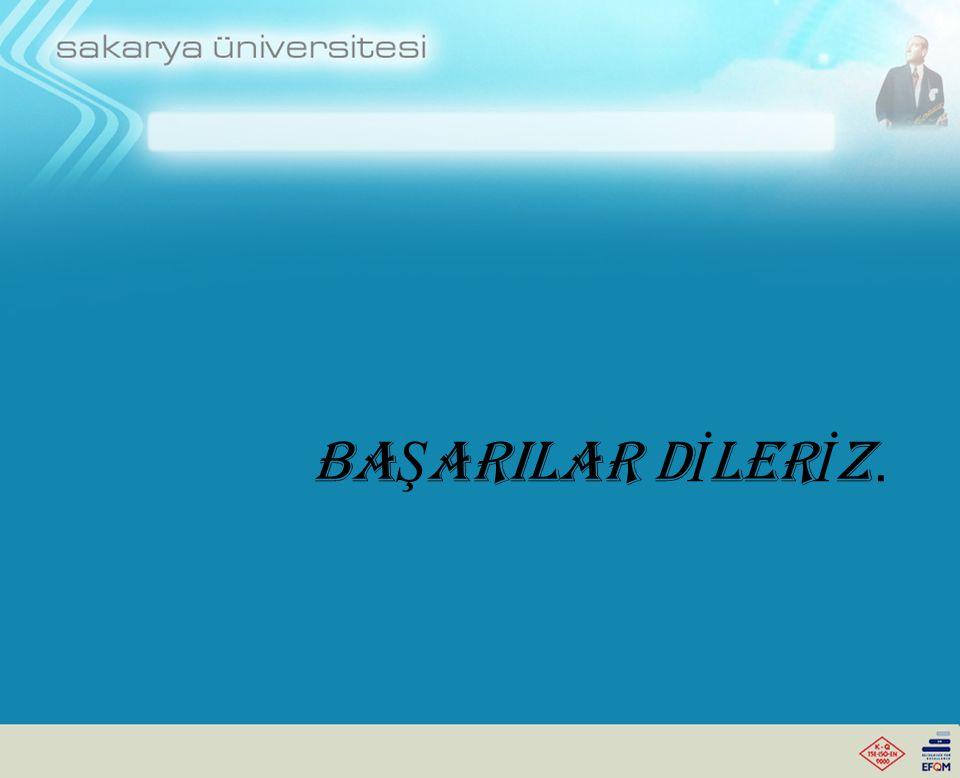 BA Ş ARILAR D İ LER İ Z.