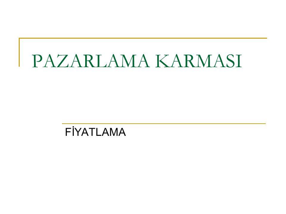 PAZARLAMA KARMASI FİYATLAMA