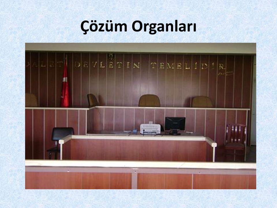 Çözüm Organları