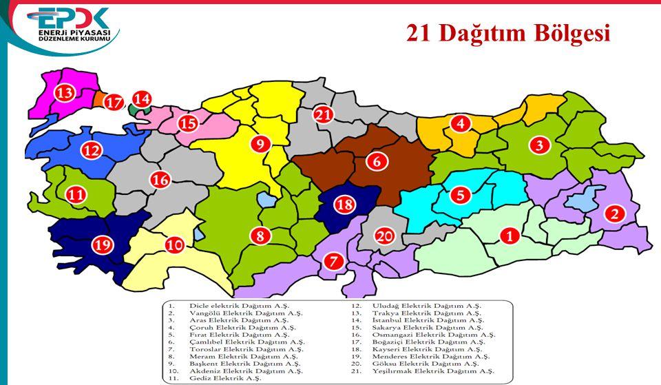 19 21 Dağıtım Bölgesi