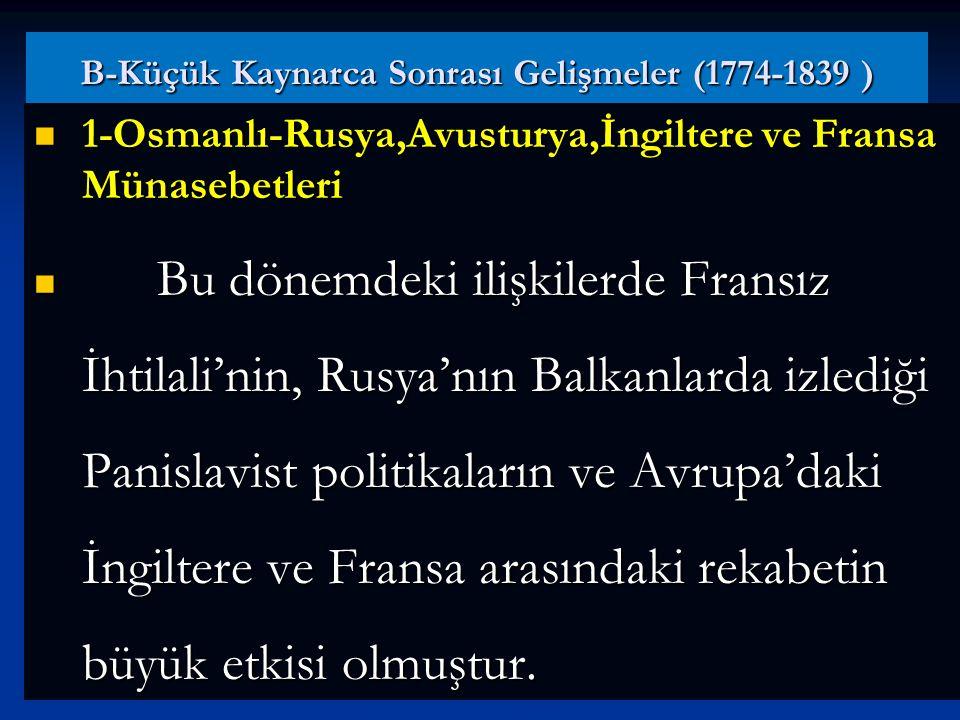 Bu antlaşma ile Rusya'nın istediği yerde konsolosluk açabilmesi, Balkanları Rus tehlikesine karşı açık hale getirmiştir. Karadeniz' deki Osmanlı hakim