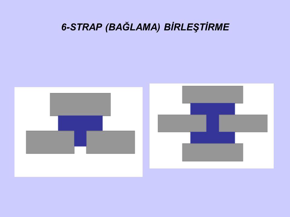 6-STRAP (BAĞLAMA) BİRLEŞTİRME