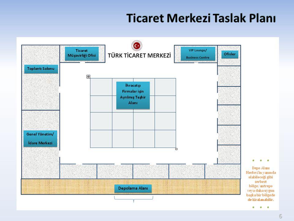 Ticaret Merkezi Taslak Planı 6