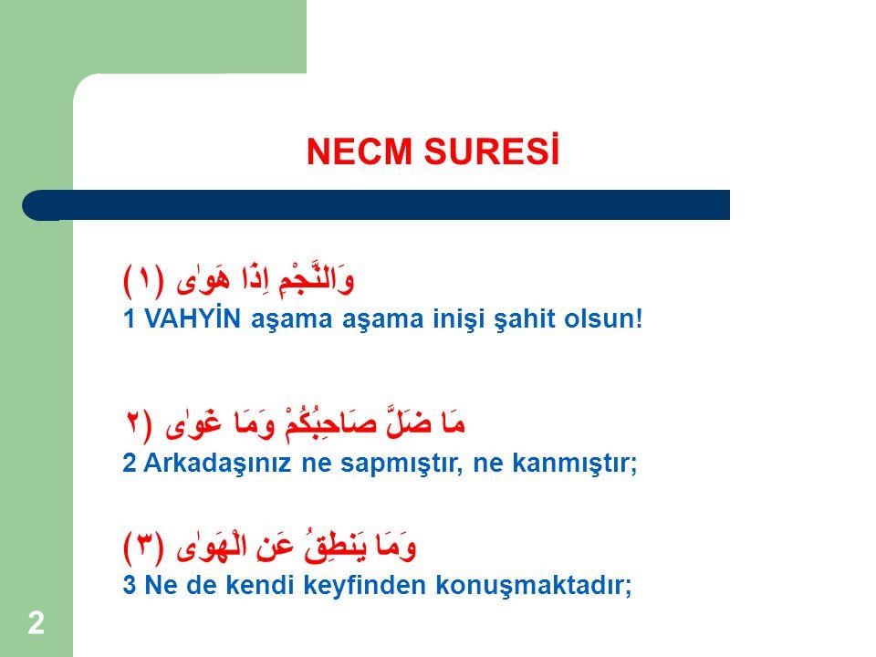 33 NECM SURESİ KONUSU 6.