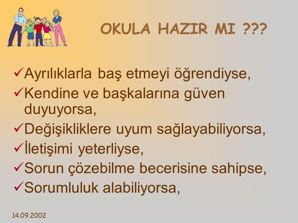 14.09.2002 OKULA HAZIR MI ??.