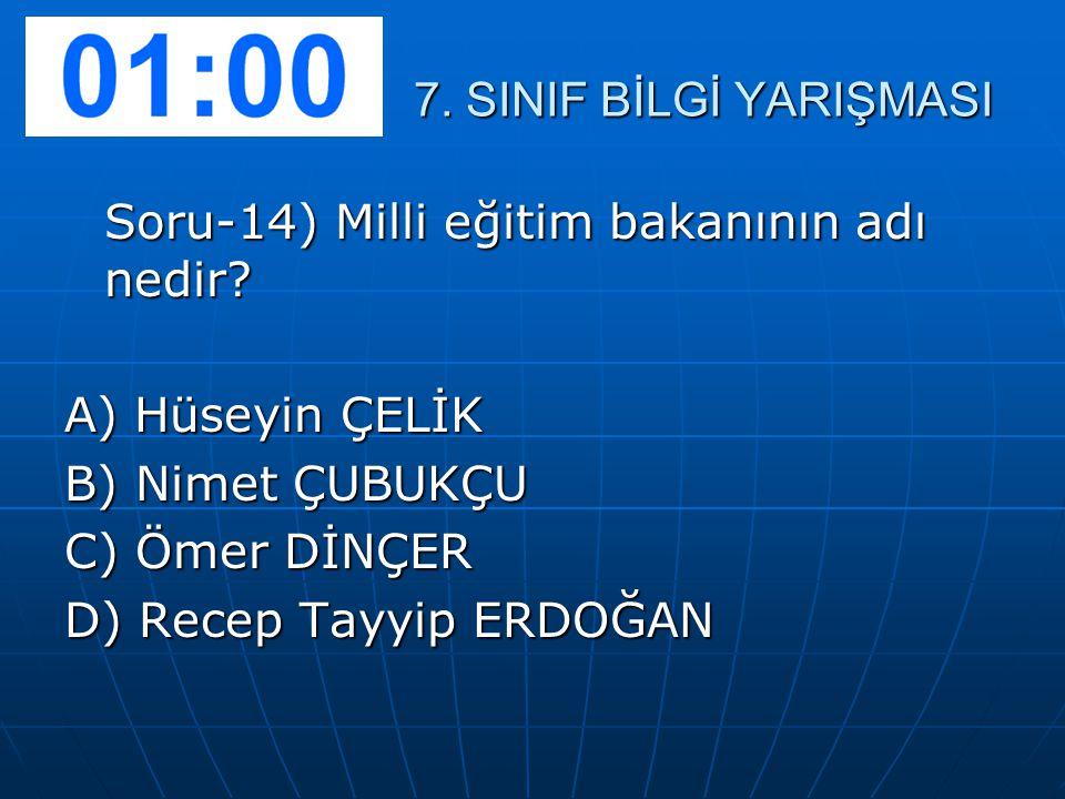 Soru-15) Gaziantep'in kurtuluş günü aşağıdakilerden hangisidir.