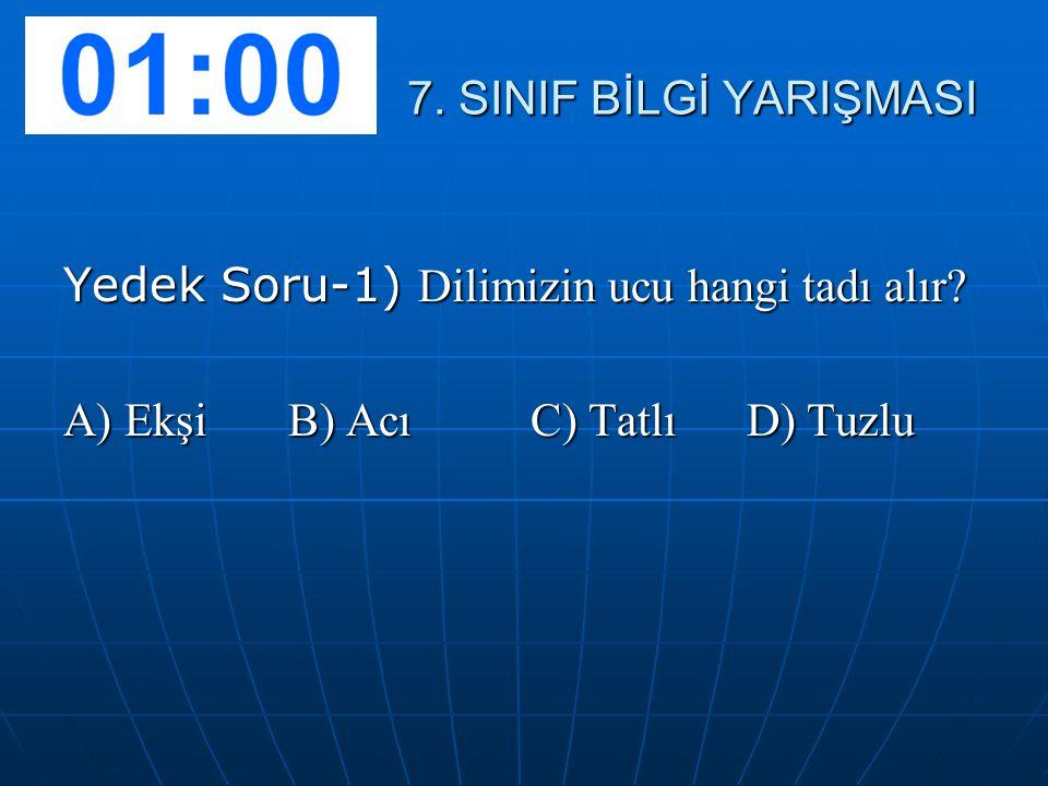 7.SINIF BİLGİ YARIŞMASI 7.