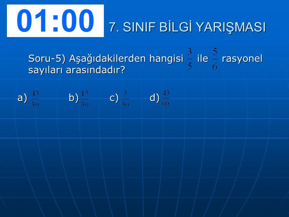 Soru-6) (2X+3) – (X-5) işleminin sonucu kaçtır.A) x+2 B)x+8 C)3x+2 D)3x-8 7.