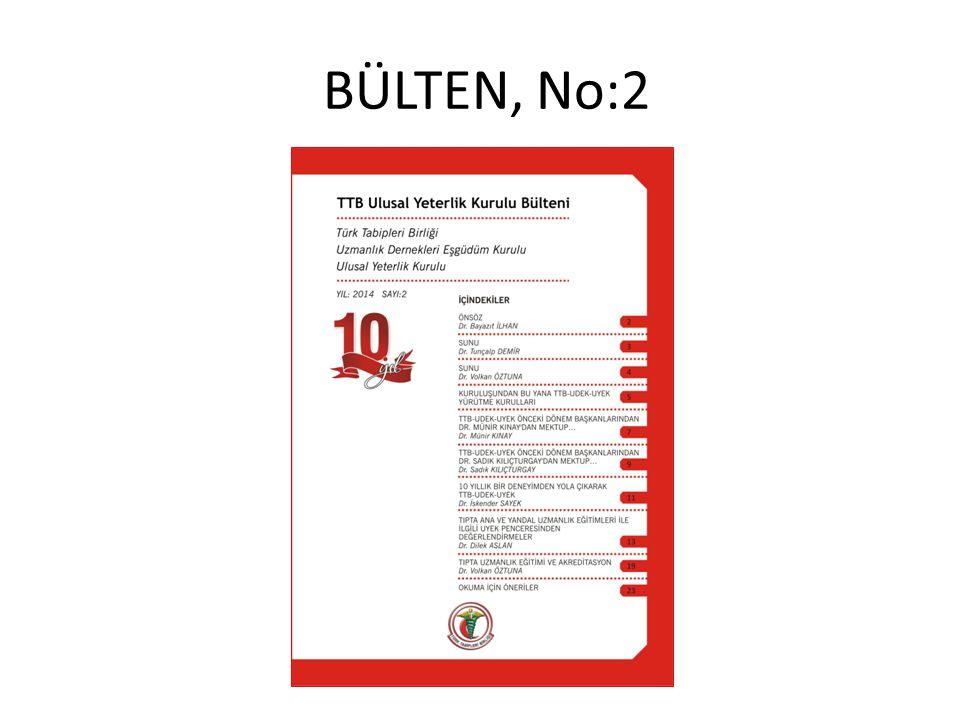 BÜLTEN, No:2