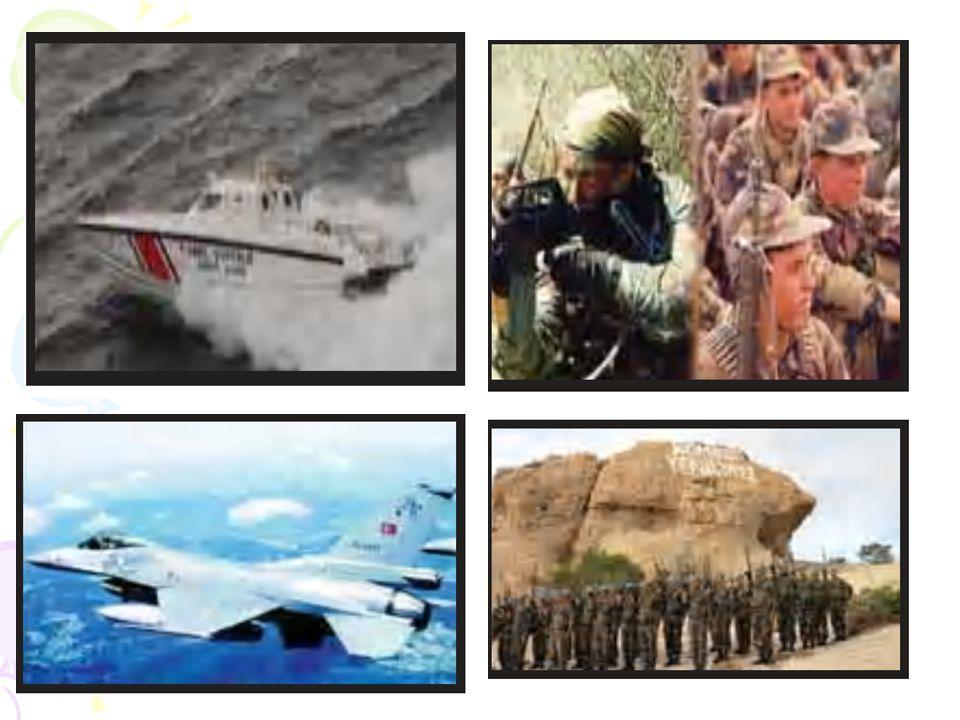 Temel görevi, tehdit ve risklere karşı ülkemizin güvenliğini sağlamak olan Türk Silahlı Kuvvetleri (TSK), dünyada da barışın teminatı olan güçlü ordul