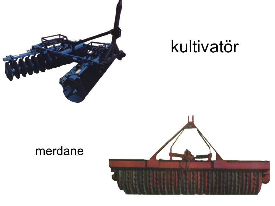 kultivatör merdane