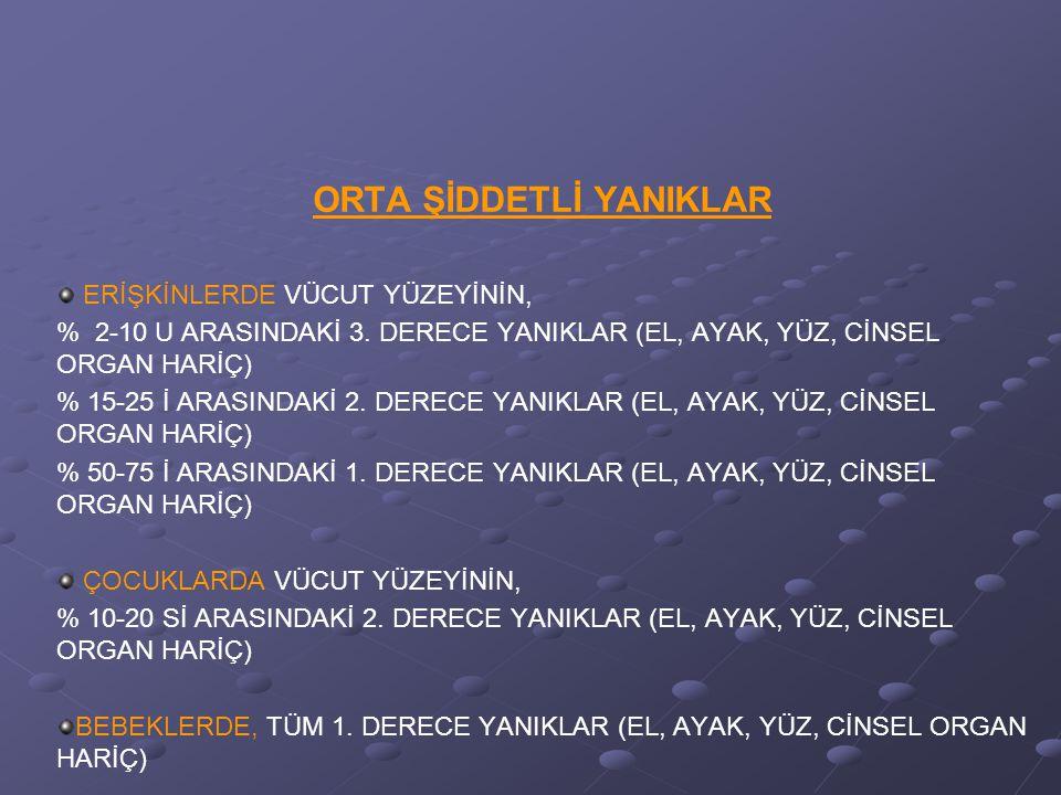 ELEKTRİK YANIKLARI SONUCUNDA 2 ÖNEMLİ TEHLİKE VARDIR.