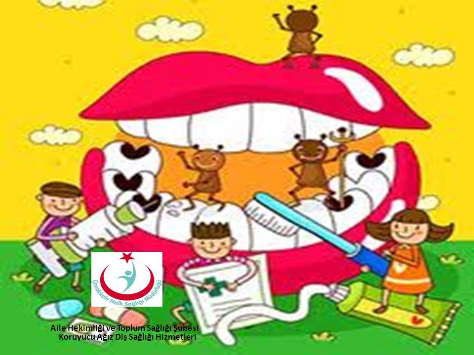Aile Hekimliği ve Toplum Sağlığı Şubesi Koruyucu Ağız Diş Sağlığı Hizmetleri